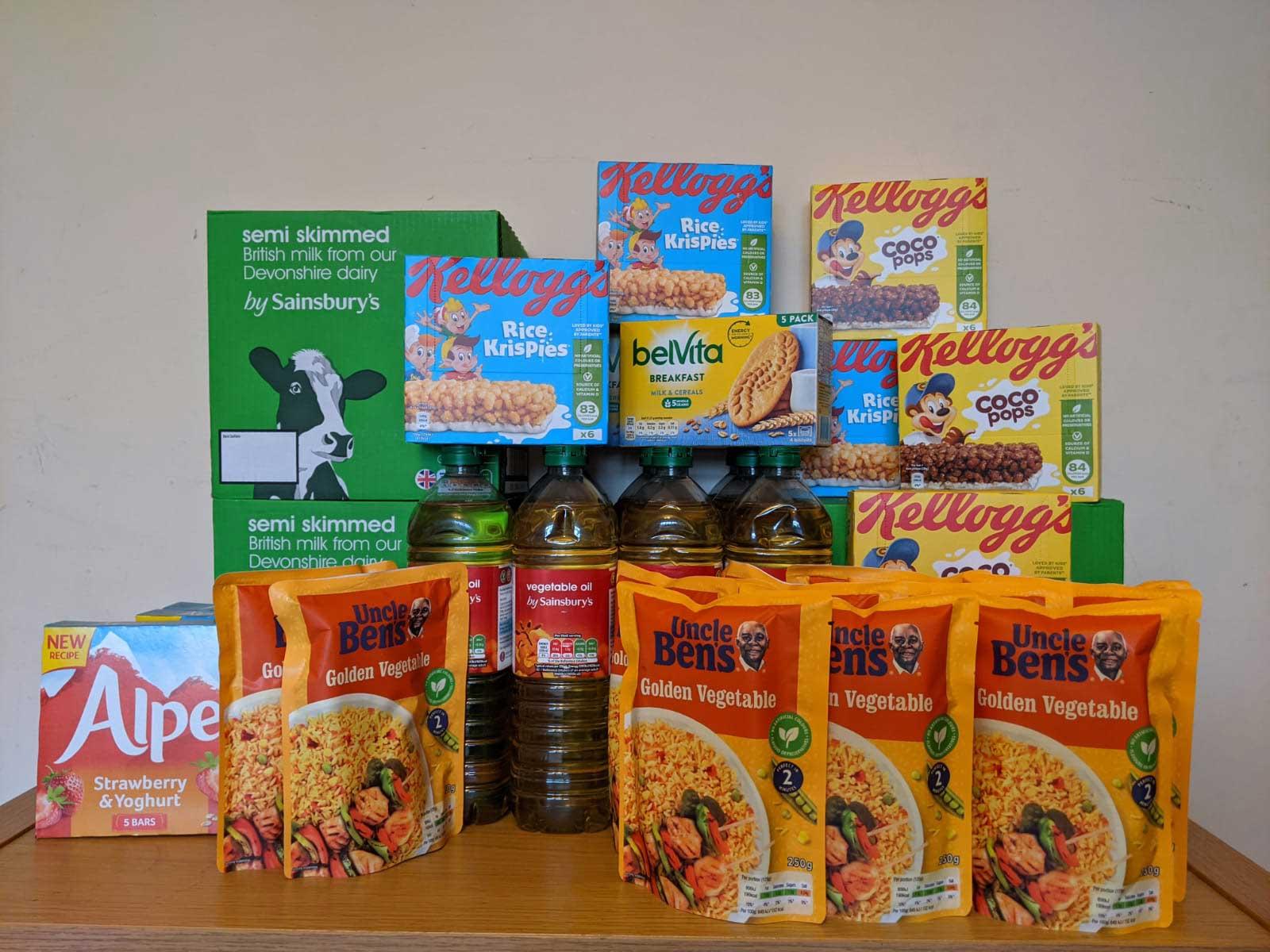 Howett Thorpe - Farnham Food Bank